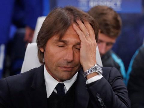 Antonio Conte admits David Luiz decision backfired in Chelsea's draw with Roma