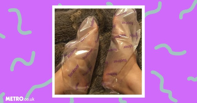 do footner exfoliating socks work