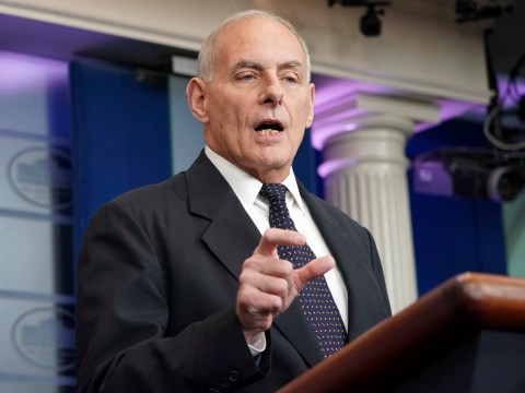 John Kelly says he's 'stunned' congresswoman was listening to Trump call in first place