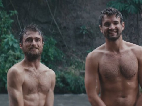 Daniel Radcliffe strips naked again in racy scenes from new Jungle film