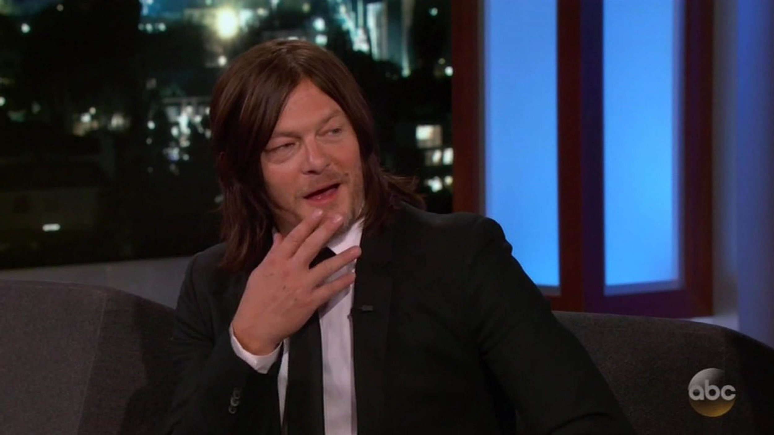 Norman Reedus didn't bother with a penis sock on The Walking Dead and just went 'butt naked' instead
