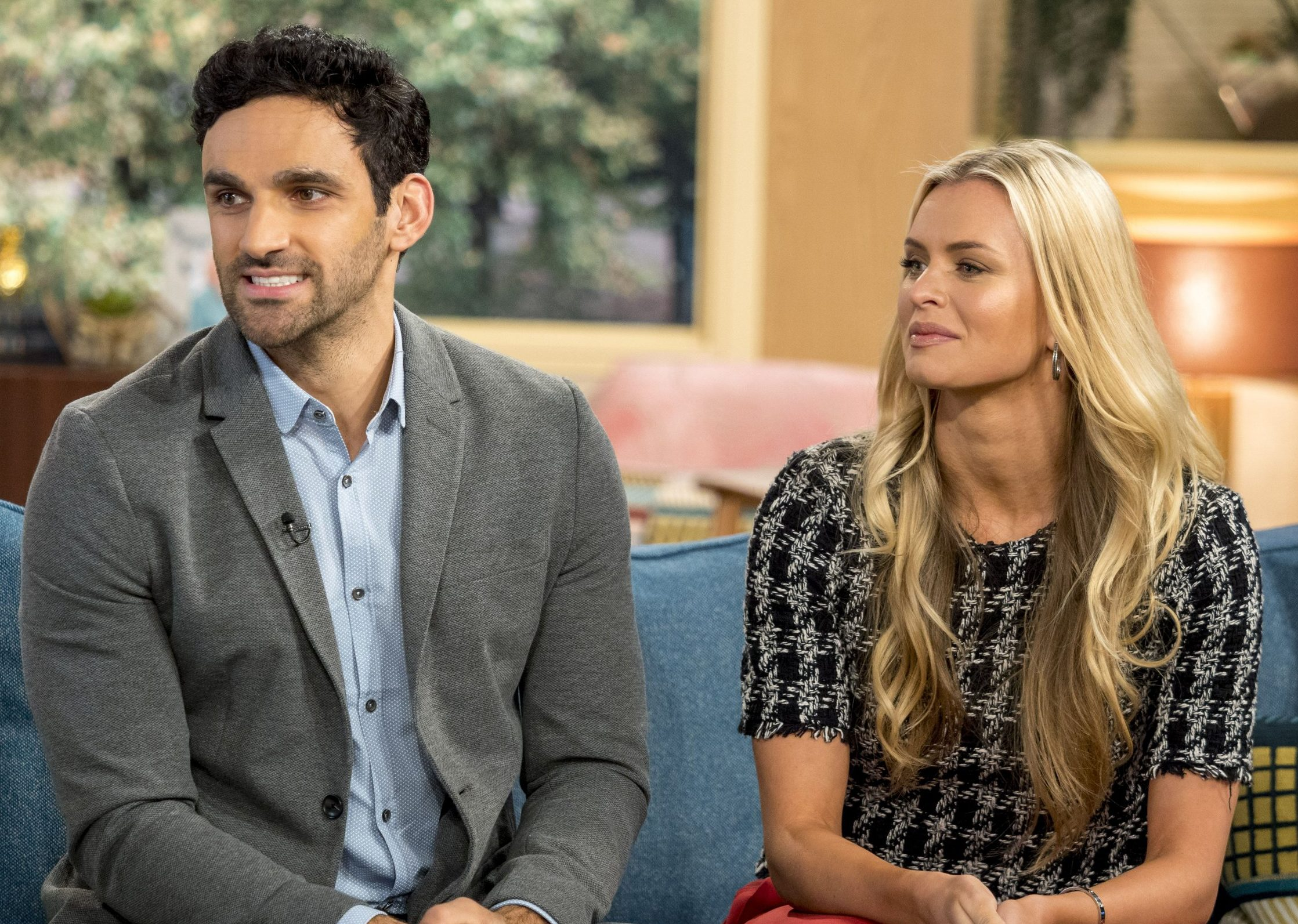 Davood Ghadami and Nadiya Bychkova get awkward as they're grilled over Strictly curse