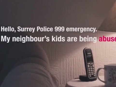 Police advert about crying babies is banned for confusing people