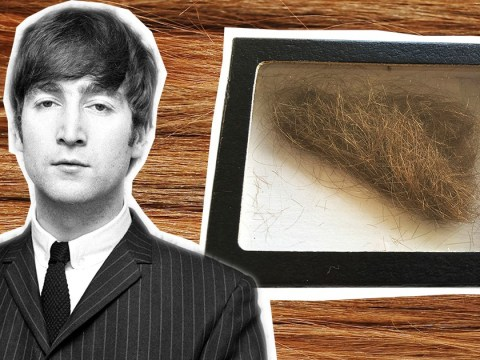 Fancy a new hobby? How about collecting the hair of celebrities for £400 a pop?