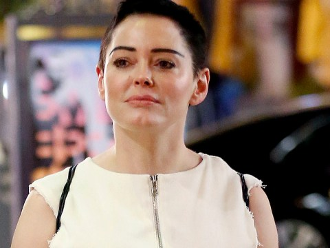 Rose McGowan pictured for first time amidst Harvey Weinstein rape allegations