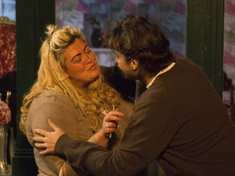Gemma Collins and James Argent spotted hugging it out before crying while filming Towie