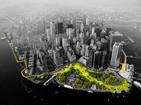 Huge 10-mile sea defence that could protect New York from flooding