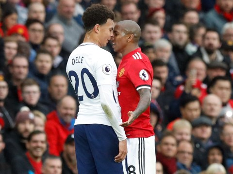 Manchester United star Ashley Young speaks out on brutal exchange with Dele Alli during Tottenham defeat