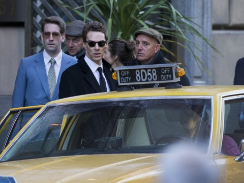 Benedict Cumberbatch seen filming new Sky series as Glasgow transforms into New York