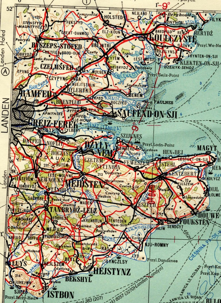 Atlas Map Of Uk.Red Atlas Book Shows Cold War Maps Of Britain Drawn Up By Soviet
