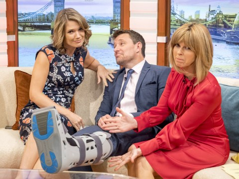 Ben Shepherd injury: What has the Good Morning Britain presenter done to his leg?