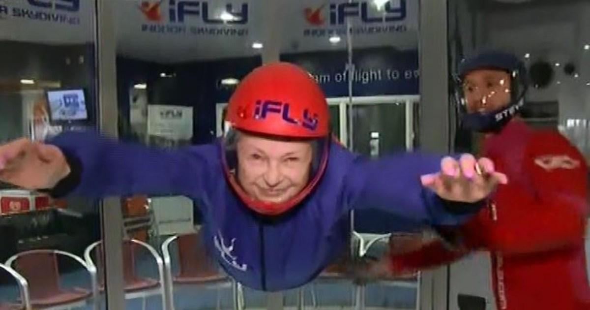 Queen indoor skydiving