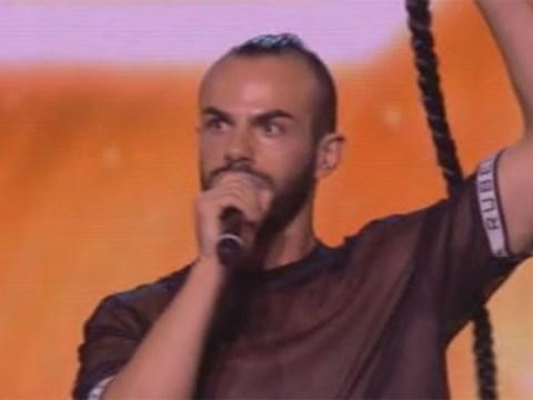X Factor 2017: Slavko Kalezic's braid malfunction doesn't stop him reaching Six Chair Challenge