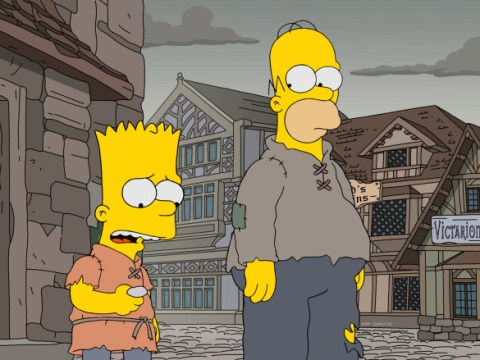 The Simpsons spoof Game Of Thrones in reference-filled season 29 premiere with Nikolaj Coster-Waldau