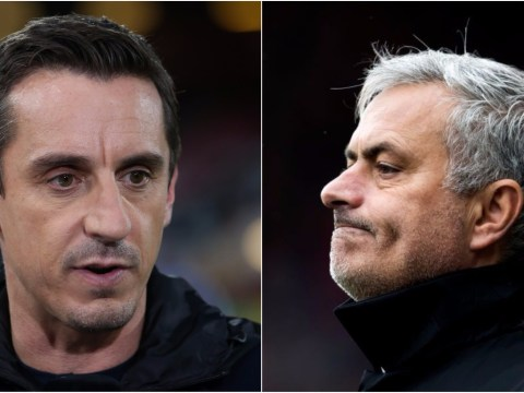 Gary Neville 'stunned' by Jose Mourinho outburst after Manchester United's defeat to Huddersfield Town