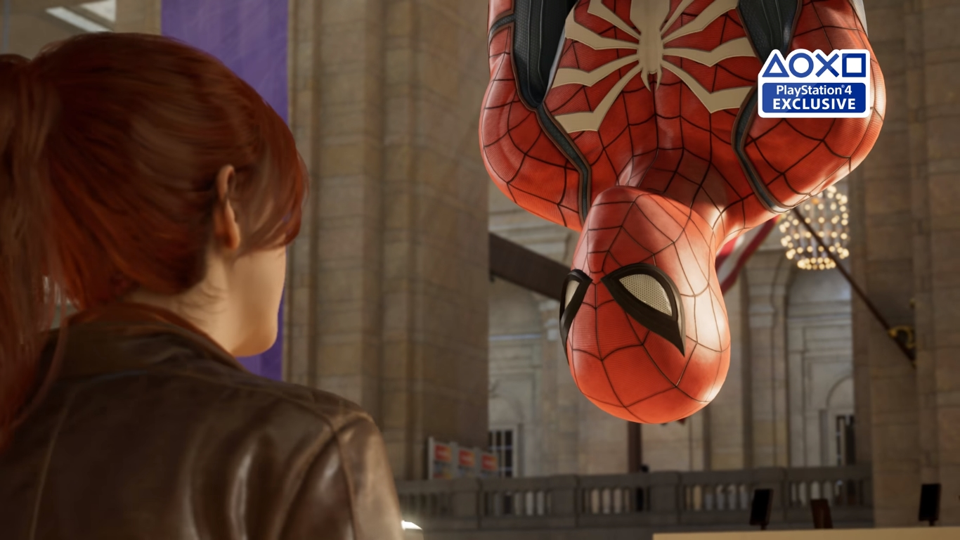 Spider-Man - not a new announcement, but it's looking good