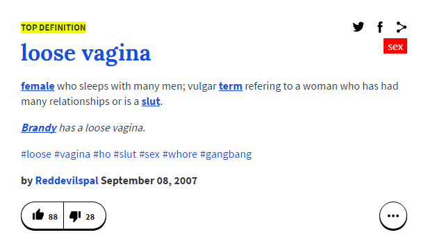 Enter The Saggy Vag The Truly Charming Definition From Urban Dictionary Picture Urban Dictionary