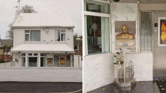 There's now a completely white house in Leeds (but Trump doesn't live there)