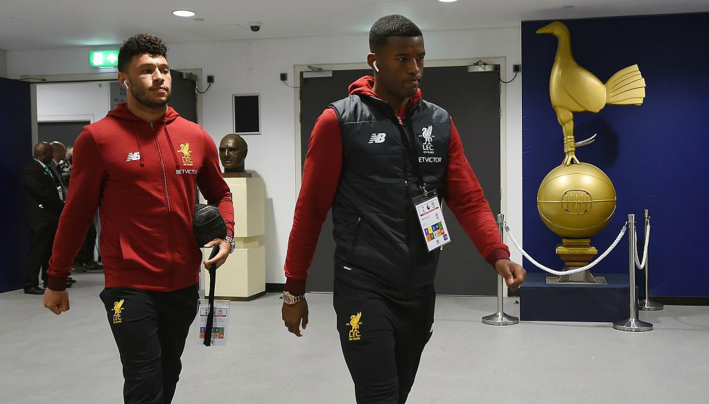 Liverpool midfielder Georginio Wijnaldum suffers knee injury