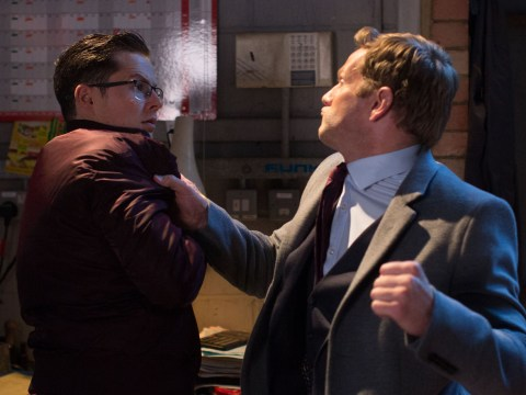 EastEnders spoilers: The end for Ben Mitchell tonight as Luke Browning violently attacks him?