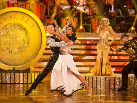 Alexandra Burke once again favourite for Strictly crown as she tops the leader board in Blackpool