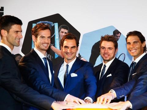 Roger Federer, Novak Djokovic, Rafael Nadal & Andy Murray 2018 starts confirmed