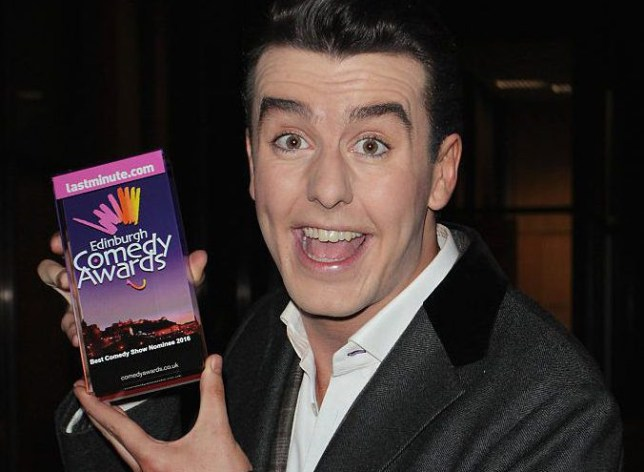 Al Porter at comedy awards