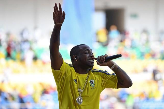 Afrobeat singer Davido asks haters 'are you God?' after