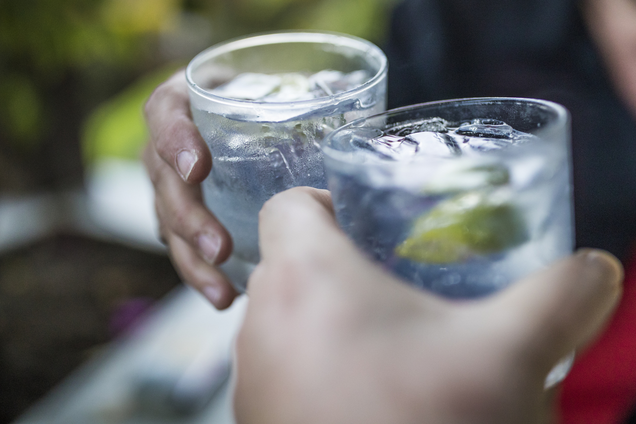 There's a huge gin auction today after business went bust