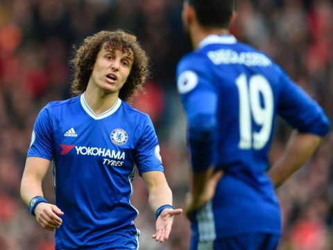 David Luiz thinks Diego Costa is factor in current spat with Chelsea manager Antonio Conte