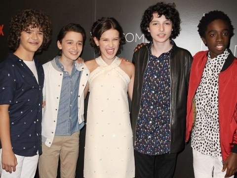 Stranger Things cast on Snapchat, Instagram and Twitter