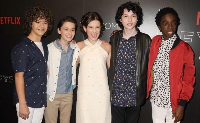 Stranger Things cast on Snapchat, Instagram and Twitter | Metro News