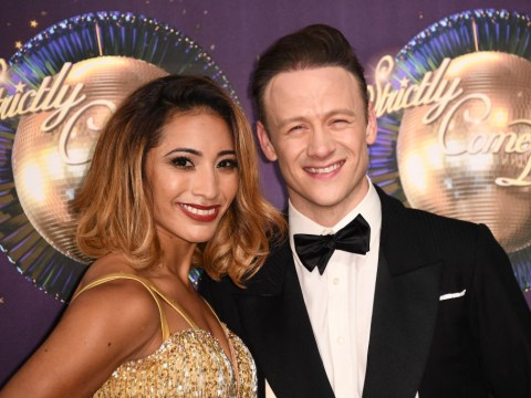 Karen Clifton claims she and Kevin are 'happy' as she speaks out for first time since speculation of affair