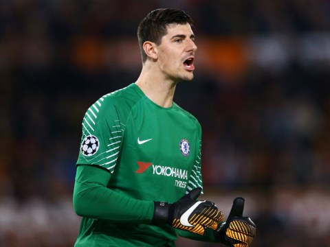 Thibaut Courtois singles out Lukasz Fabianski for praise ahead of Chelsea's clash with Swansea