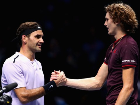 Roger Federer reveals what he told Alexander Zverev in private chat after tough Australian Open exit