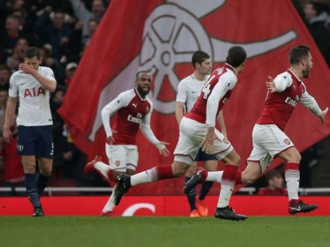 North London is red: Arsenal beat Tottenham at their own game in best performance for years