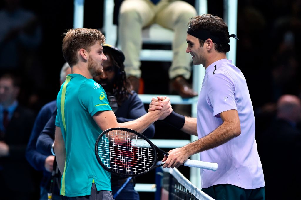 David Goffin reveals exactly how he went about stopping Roger Federer at the ATP Finals