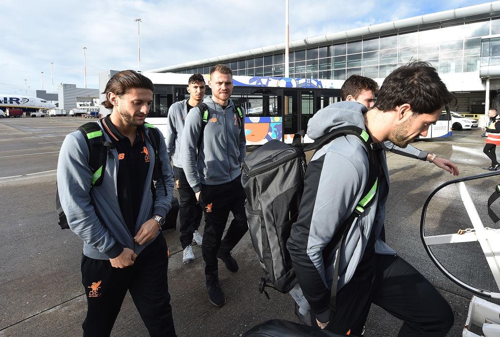 Adam Lallana named in Liverpool's squad for Champions League clash against Sevilla