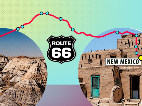 Route 66 – New Mexico to Arizona: Where to eat, what to see and what to do