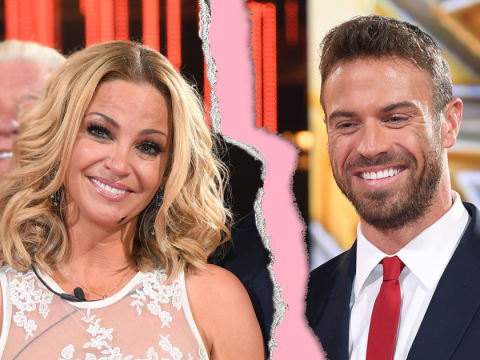 Celebrity Big Brother couple Sarah Harding and Chad Johnson 'split up' after three months together