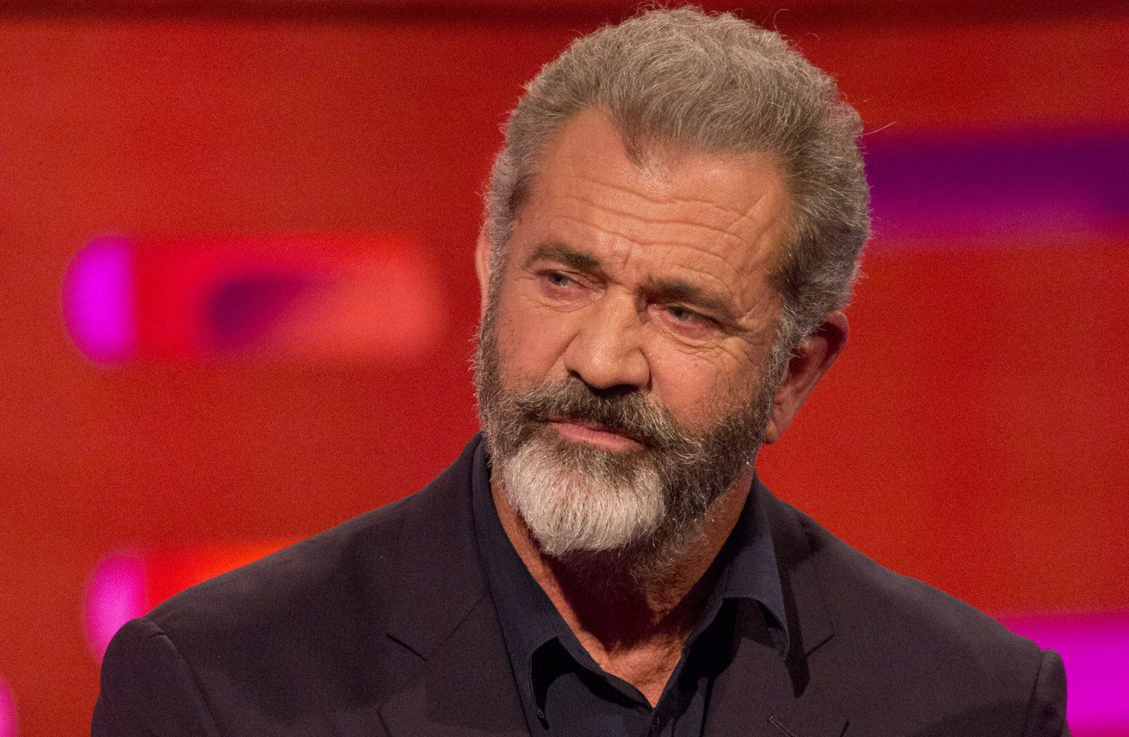 Mel Gibson during the filming of the Graham Norton Show at The London Studios, south London, to be aired on BBC One on Friday evening. PRESS ASSOCIATION Photo. Picture date: Thursday November 16, 2017. See PA story SHOWBIZ Norton. Photo credit should read: PA Images on behalf of So TV.