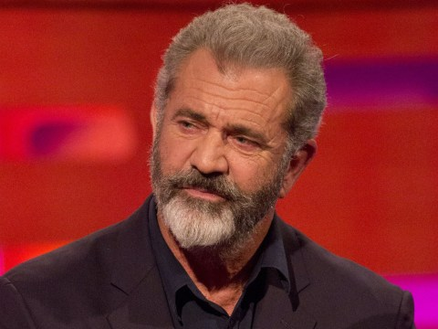 Mel Gibson appeared on Graham Norton to promote his new film, and people were less than pleased