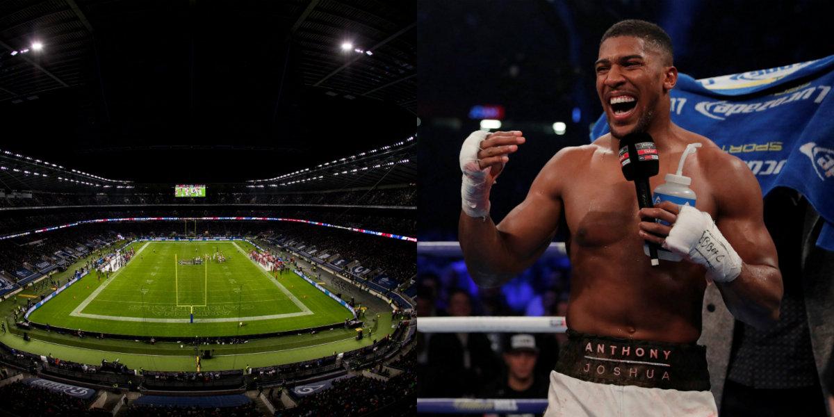 Twickenham possible venue for Anthony Joshua's next fight, says Eddie Hearn