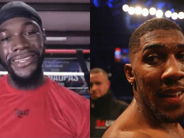 Deontay Wilder accuses Eddie Hearn of hiding 'little girl' Anthony Joshua from him