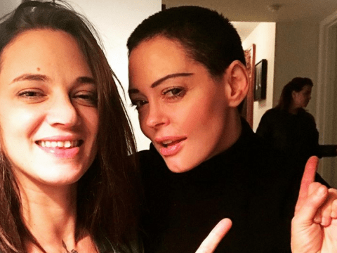 Asia Argento meets with other Harvey Weinstein accusers Rose McGowan and Annabell Sciorra