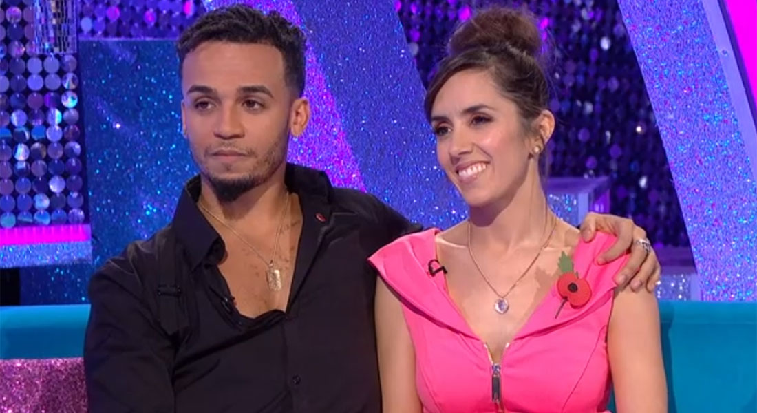 Aston Merrygold and Janette Manrara break down on It Takes Two after shock Strictly exit