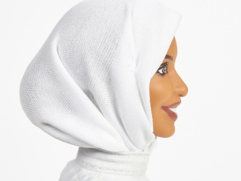 Barbie finally gets a hijab