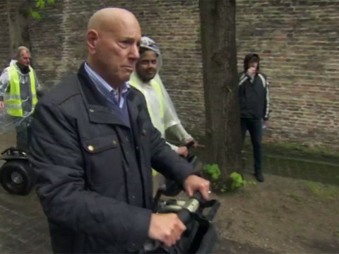 Claude Littner's Segway ride in The Apprentice might just be the TV moment of the year