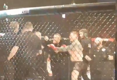 Conor McGregor confronts referee as celebrations turn sour at Bellator 187