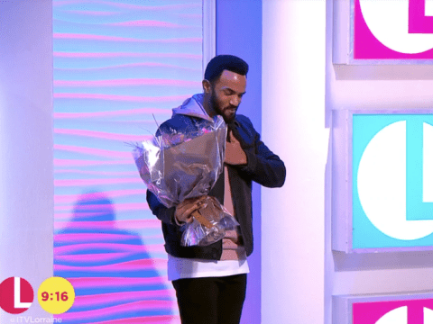 Craig David gave Lorraine a big birthday surprise as he turned up on her show